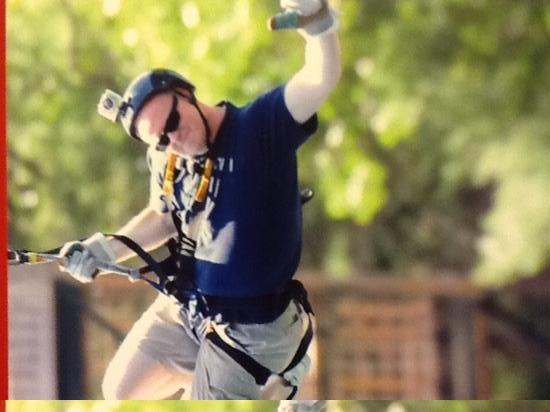 Bigfoot Zipline: freestyling
