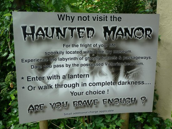 House on the Hill Toy Museum: Haunted Manor