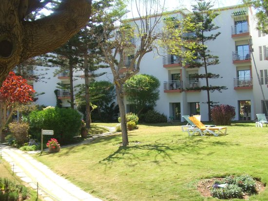 Hôtel Agadir Beach Club : chambres très calmes dans le jardin