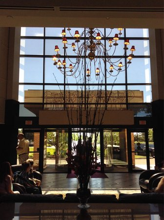 Woodcliff Hotel and Spa : Nice lobby