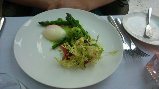 Stones Restaurant: Poached egg