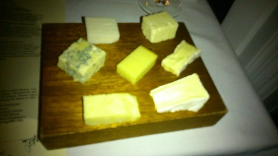 Stones Restaurant: Cheese board