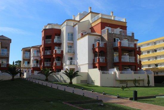 Hotel Pueblo Camino Real : notre batiment (chambre)