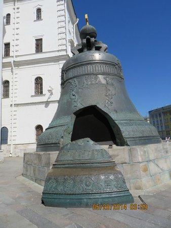 Moskauer Kreml: The famous bell
