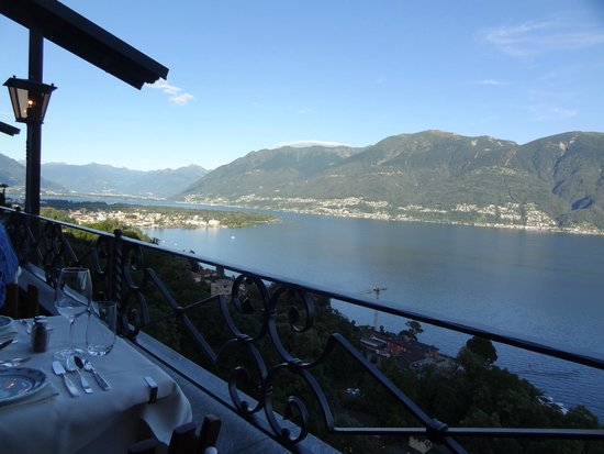 Hotel Casa Berno : View from classic restaurant/terrace