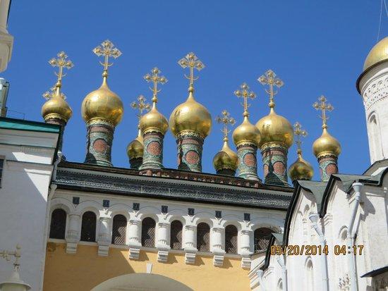 Moskauer Kreml: Amazing domes