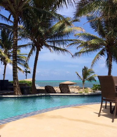 The Landings at Tres Cocos : View from the pool