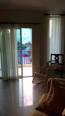 Villas Los Corales: inside living room