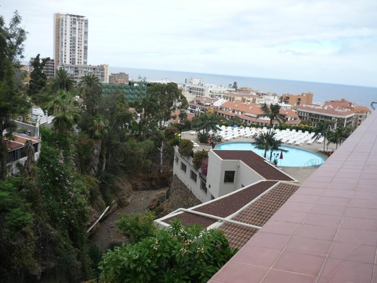 Hotel El Tope: вид с балкона