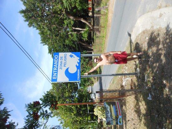 Highway 997: Sign along road
