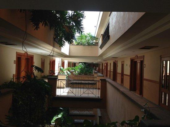 Costa Adeje Gran Hotel: Our floor outside room