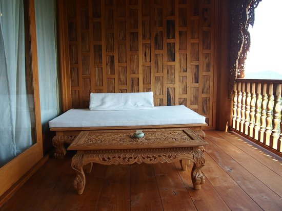 Santhiya Koh Yao Yai Resort & Spa : The balcony