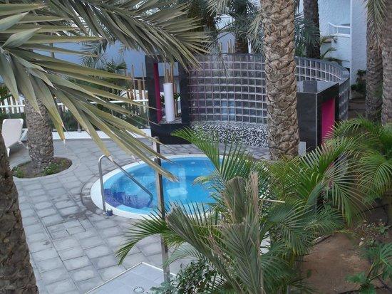Hotel Riu Don Miguel: Jacuzzi desde mi habitación