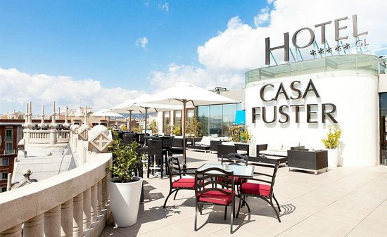 Casa Fuster Hotel: Terrace