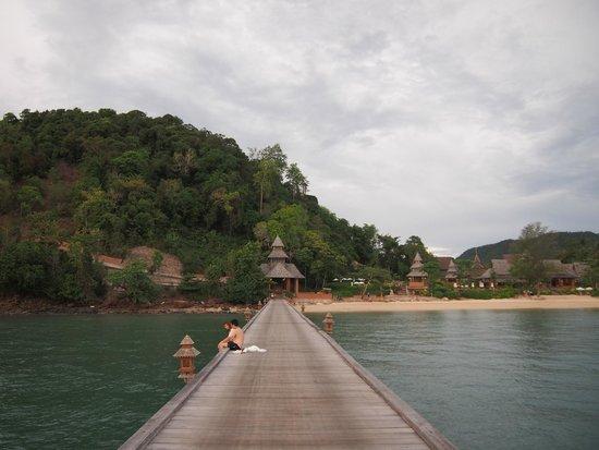 Santhiya Koh Yao Yai Resort & Spa: The pier