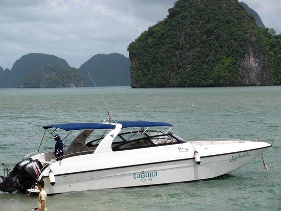 Laguna Tours : modern comfortable speed boat