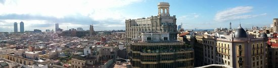 H10 Montcada Boutique Hotel : Rooftop view