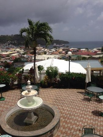 Grenadine House: view from room