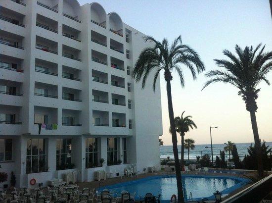 Best Indalo: vistas de la terraza