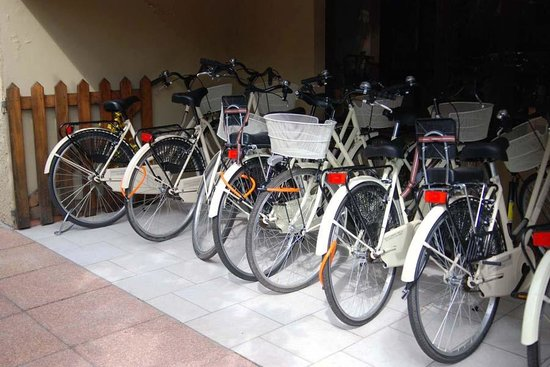 Hotel Giardino: biciclette gratuite