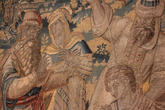 Chrysler Museum of Art: Detail from a tapestry