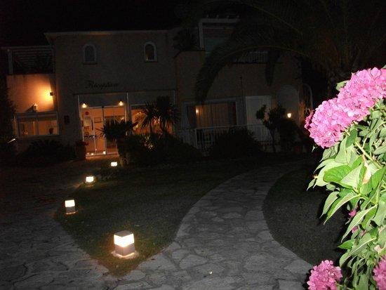 Hotel Le Cottage : belle vue de nuit