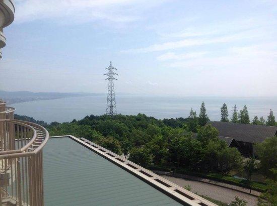 Hilton Odawara Resort & Spa: view north from 4th floor room