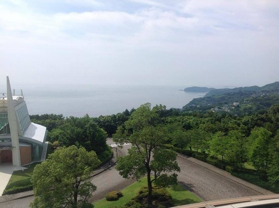 Hilton Odawara Resort & Spa: view south from 4th floor room