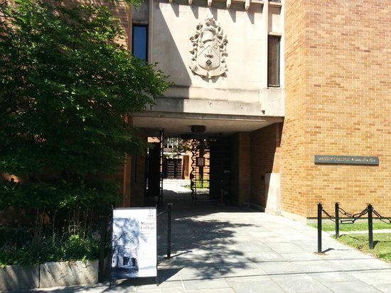 Massey College Summer Rentals: Main Entrance