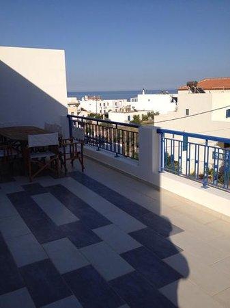 Anatoli Hotel : One of 3 balconies. Huge!