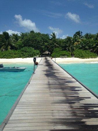 Soneva Fushi Resort: Arrival Jetty
