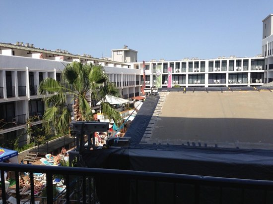 Ibiza Rocks Hotel: view from 358