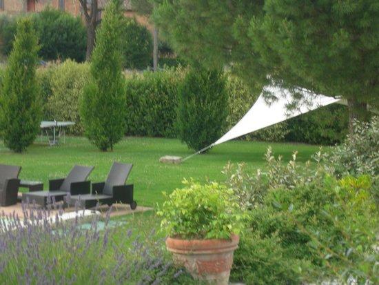L'Orto di Panza: the garden and pool