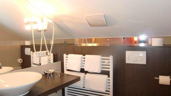 Hotel Traube : Badezimmer
