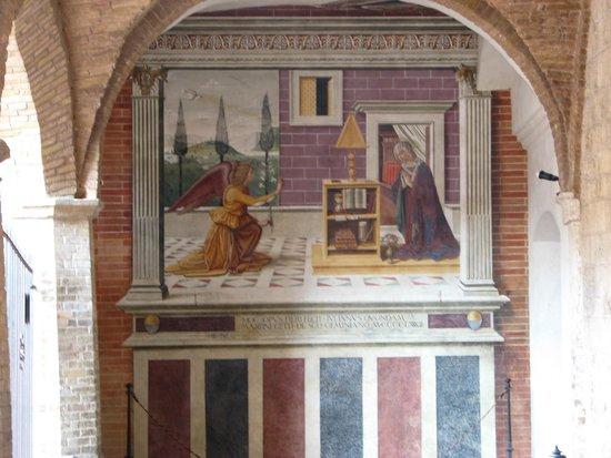 Collegiata di Santa Maria Assunta - Duomo di San Gimignano: magnifique fresque