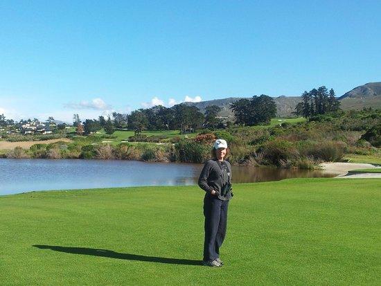 Arabella Hotel & Spa: golf course stroll