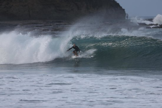 Rancho Santana: Me surfing