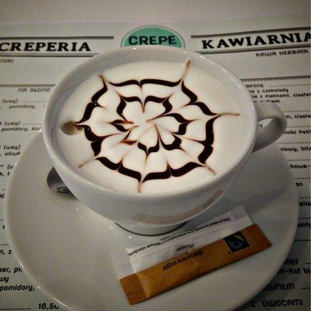 Crepe Cafe: cappuccino