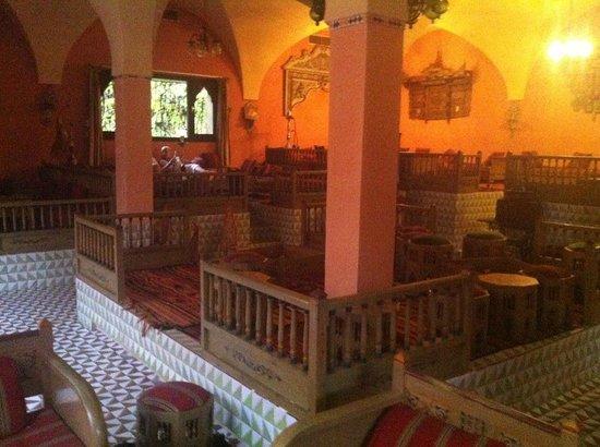 Hotel Paradis Palace : cafe maure