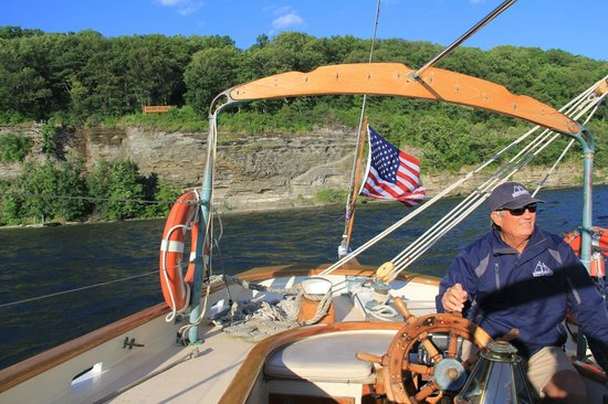 Schooner Excursions, Inc: View from the back
