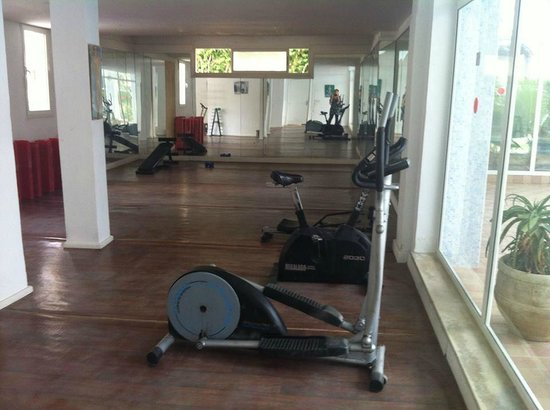 Hotel Paradis Palace : salle de sport