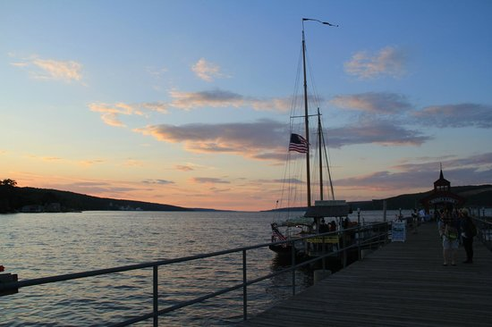 Schooner Excursions, Inc: The sun is starting to set