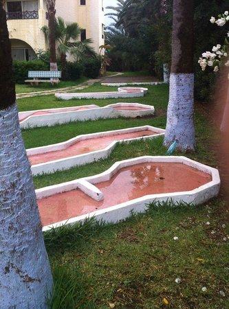 Hotel Paradis Palace : terrain de golf