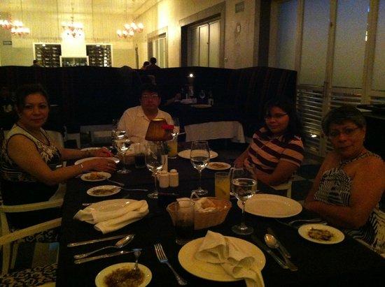 Secrets Silversands Riviera Cancun : Cenando en el Restaurant Italiano
