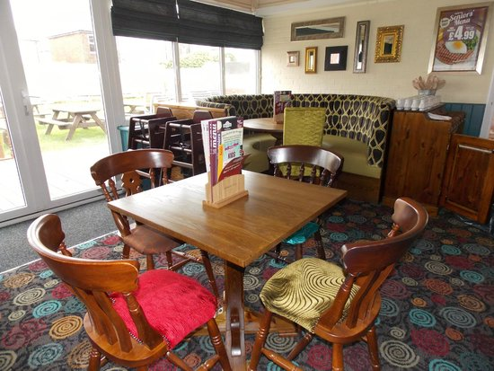 Part of the eating area picture of alexandra arms for Furniture now eastbourne