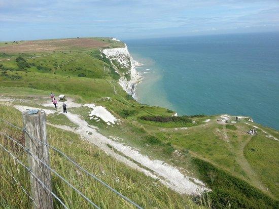 Falaises blanches de Douvres : View of Dover Cliffs