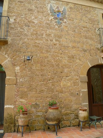 Villa Trigona: esterno