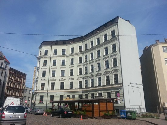 Hanza Hotel: Esterno