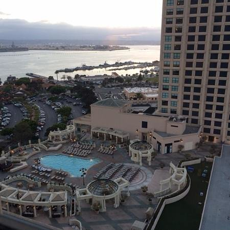 Manchester Grand Hyatt San Diego: view from the harbor tower