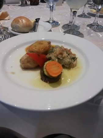 Sheraton Grand Panama: main course